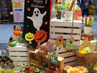 На товары к Halloween - уже скидки