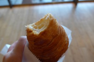 It has a good texture that is light and flaky.