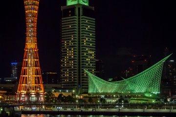 Le Port de Kobe de Nuit