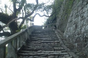 a challenging footpath