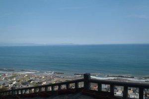 view of Suruga bay