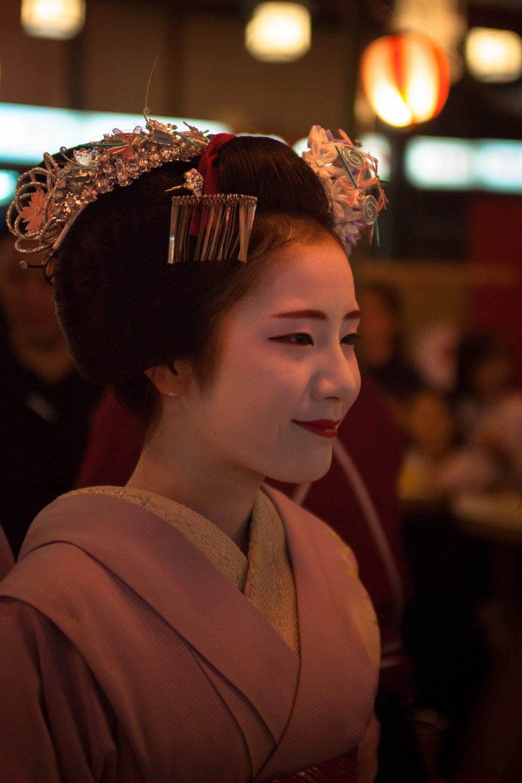 Des maiko et des geisha au Gion matsuri