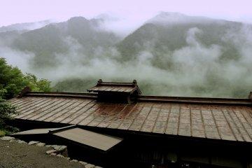 Roof of Osaka-ya