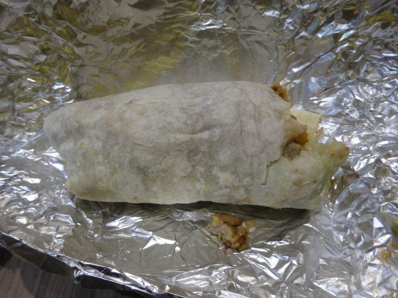 <p>The chicken burrito at Burri</p>