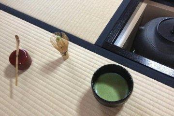 <p>The way of tea in Tea Ceremony Koto</p>