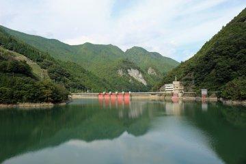 <p>From the road above Osako Dam &nbsp;</p>