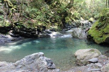 <p>The Amago Pool</p>