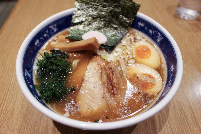 A hearty bowl of Setagaya Ramen
