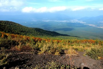 Fall Views From Fuji's 5th Station