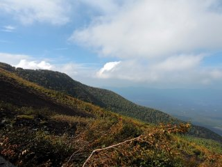 It feels amazing to be halfway up Japan's highest mountain (even if I came by car)