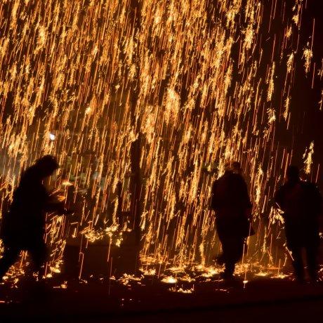 Festival Kembang Api Unik Akamatsu