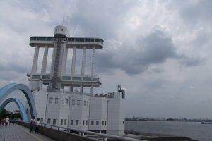 Interesting design of the Nagoya Port Building