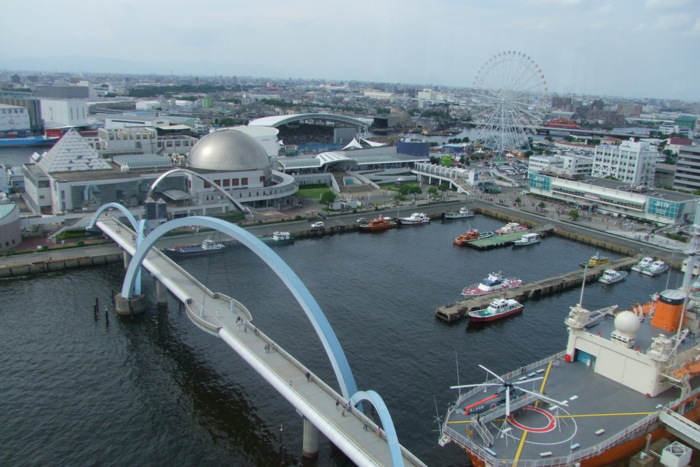 A view of the Nagoya Port district