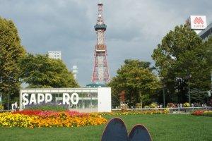 Odori Park, TV Tower, and Sapporo!