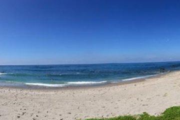 ตั้งเค้มพ์บนชายหาด