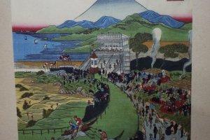 Painting of Negishi Race Track