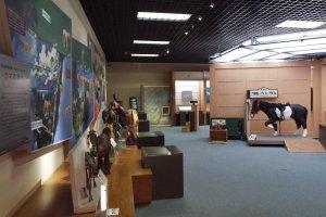 History of Horses exhibit