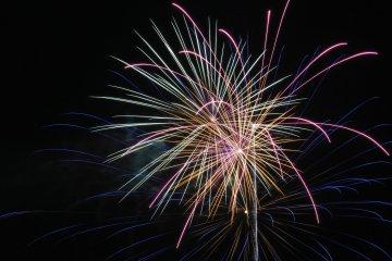Sendai Tanabata Festival Fireworks