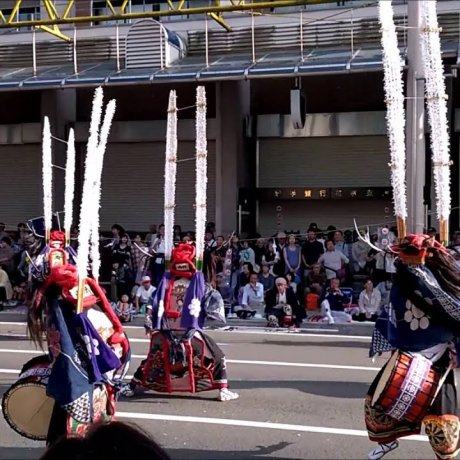 Танцоры-олени в Ханамаки