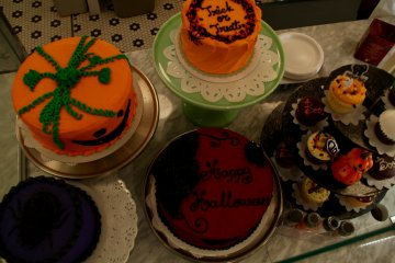Some of the seasonal pies