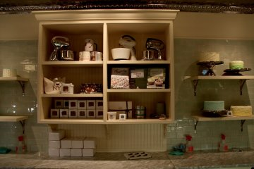 The vintage styled kitchen every cupcake baker wants to own