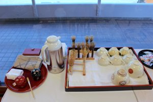 The tools of the tea ceremony