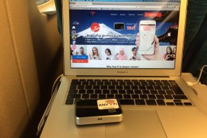 The process of reserving your pocket Wi-Fi online is easy