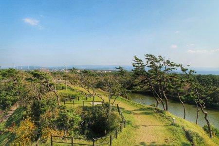 Tận hưởng thiên nhiên tuyệt vời tại công viên Futtsu