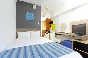 Double room at MYSTAYS Ueno Inaricho