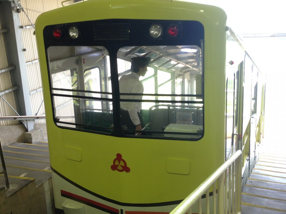 Take the Cable Car to Kasamatsu Park at the top of Ichinomiya Pier, for a spectacular view of Amanohashidate.