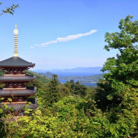 Kuil Amanohashidate - Nariaji