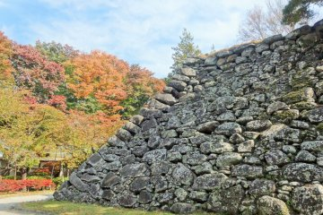 Autumn at Komoro Castle Ruins