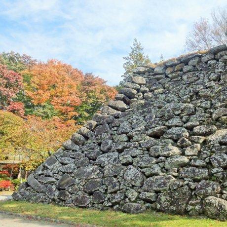 Autumn at Komoro Castle Ruins