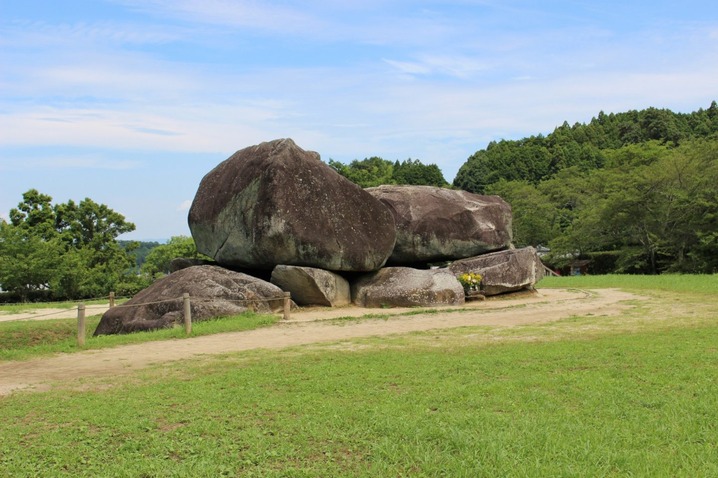Egypt isn't the only country with the tombs of Kings, Japan has them too! This is the Ishibutai in Asuka
