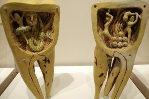 Interesting exhibits showcasing how people in the old days interpreted toothache