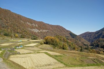 <p>Ketto stone-walled rice terraces were very peaceful</p>