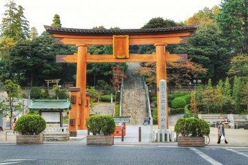 ศาลเจ้า Utsunomiya Futaarayama