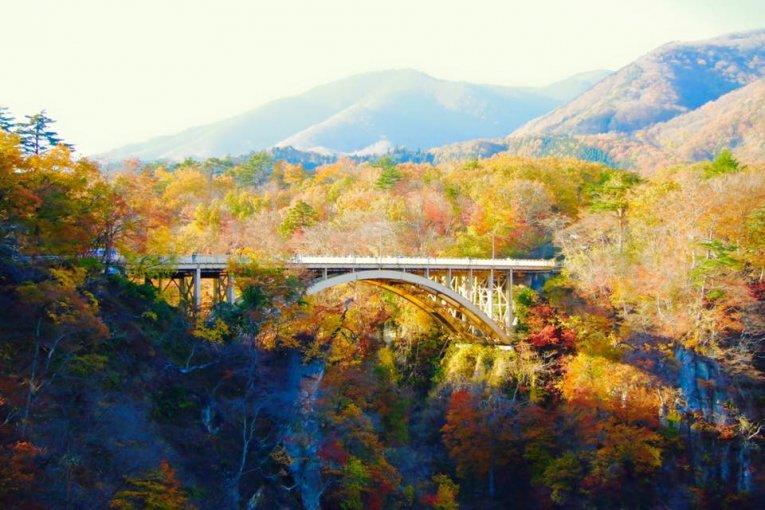 Mùa thu ở hẻm núi Naruko