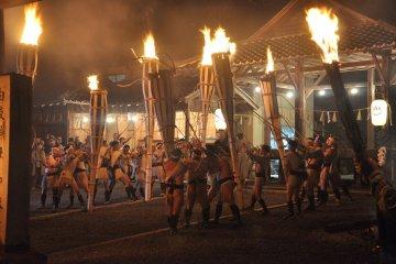 Lễ hội lửa đền Kurama