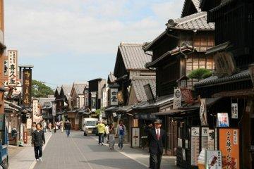Akafuku sweets store, Okage Yokocho, Ise.