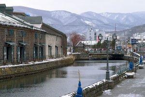 The canal in Otaru
