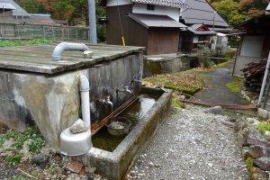 集落の水源