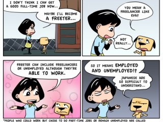 ภาษาอังกฤษแบบญี่ปุ่นแปลกๆ : Freeter