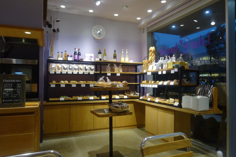 The bakery corner showcases all of the treats