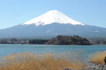 Kawaguchiko, le Lac du Mont Fuji