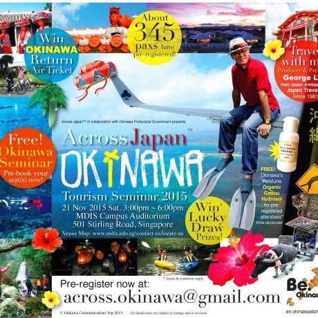 Seminar Across Okinawa di Singapura