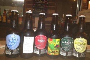 Bottled Atsugi Beer