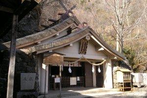 Okusha Shrine, on the upper level of Togakushi Jinja Shrine.
