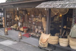 Togakushi's bamboo crafts are also famous throughout Japan.