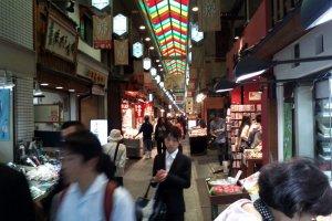 Suasana di Nishiki Market
